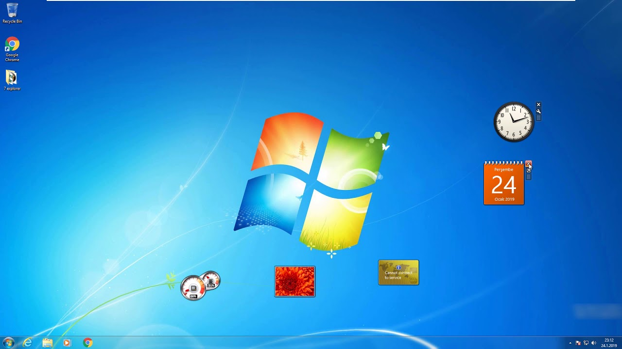 Windows 8.1 with Update [Transformed into Windows 7] - YouTube