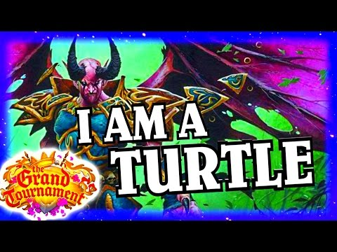 Malganis the Turtle ~ Hearthstone Heroes of Warcraft ~ The Grand Tournament TGT