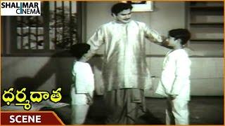Dharma Daata Movie || ANR Tells His Son To Work Hard For Money || ANR, Kanchana || Shalimarcinema
