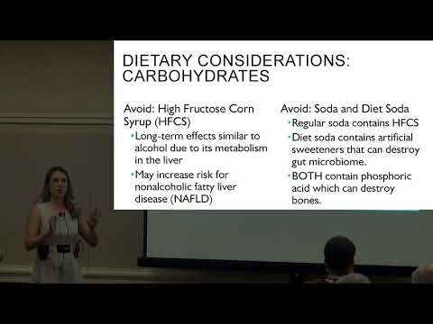 Nutrition and Supplements for Inflammation, Kelsey Peterson