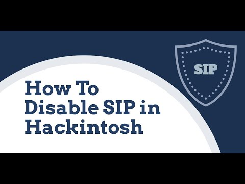How To Disable Permanently Or Temporarily System Integrity Protection (SIP) In MAC OS Or Hackintosh.