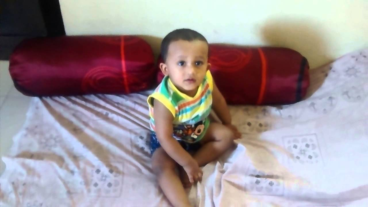 Little 1 year old baby Ayaansh Trying To Walk - YouTube