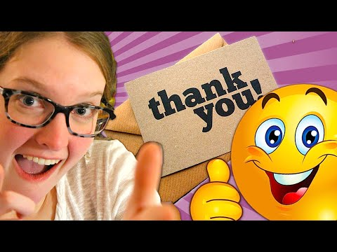How to Write Personal & Professional Thank You Notes!