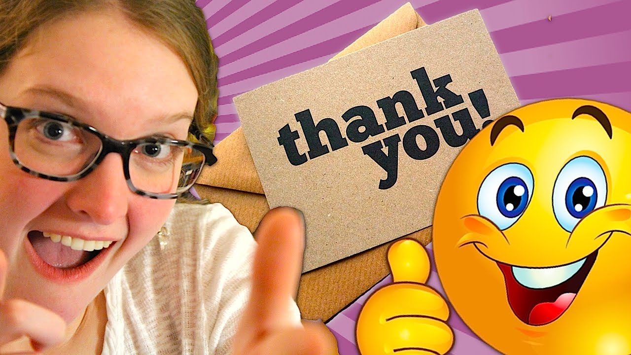 How To Write Personal  Professional Thank You Notes  Youtube