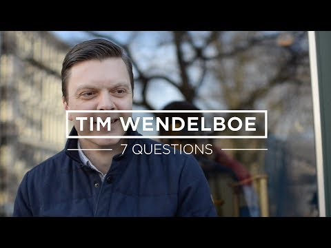 7 Questions for Tim Wendelboe
