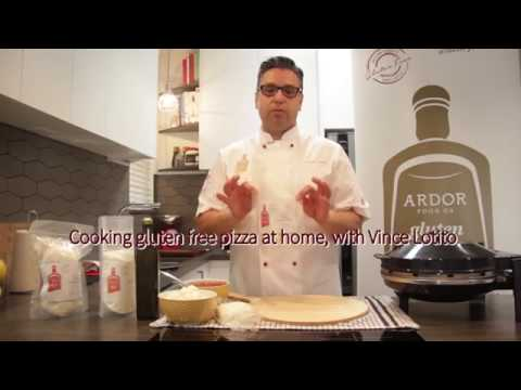 Cooking gluten free pizza at home, with Vince Lotito