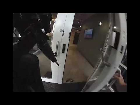 Police body cam footage following Middleton workplace shooting