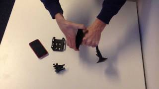 iPhone 4S - 3GS sugekop holder, iPhone bil holder, iPhone car mount, luftkanal holder - iPhonelir.dk