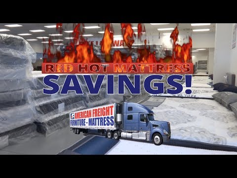 Red Hot Mattress Savings | American Freight Furniture And Mattress