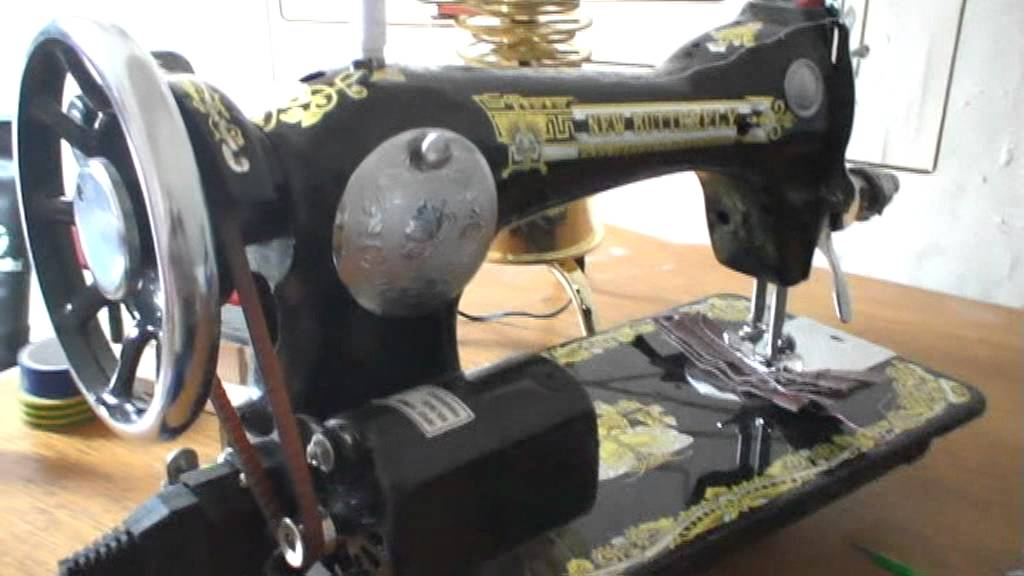 Butterfly Sewing Machine Youtube