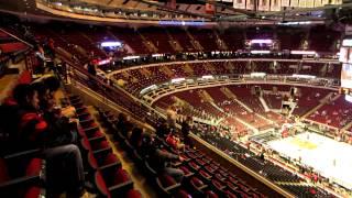 Oklahoma City Thunder x Chicago Bulls 11/08/2012 - United Center inside view before match