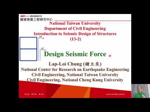 1061-NTU-SDS-13-2-Design Seismic Force - Lap-Loi Chung