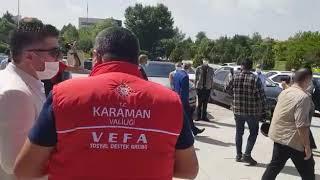 Vali Meral, Karaman'dan ayrıldı
