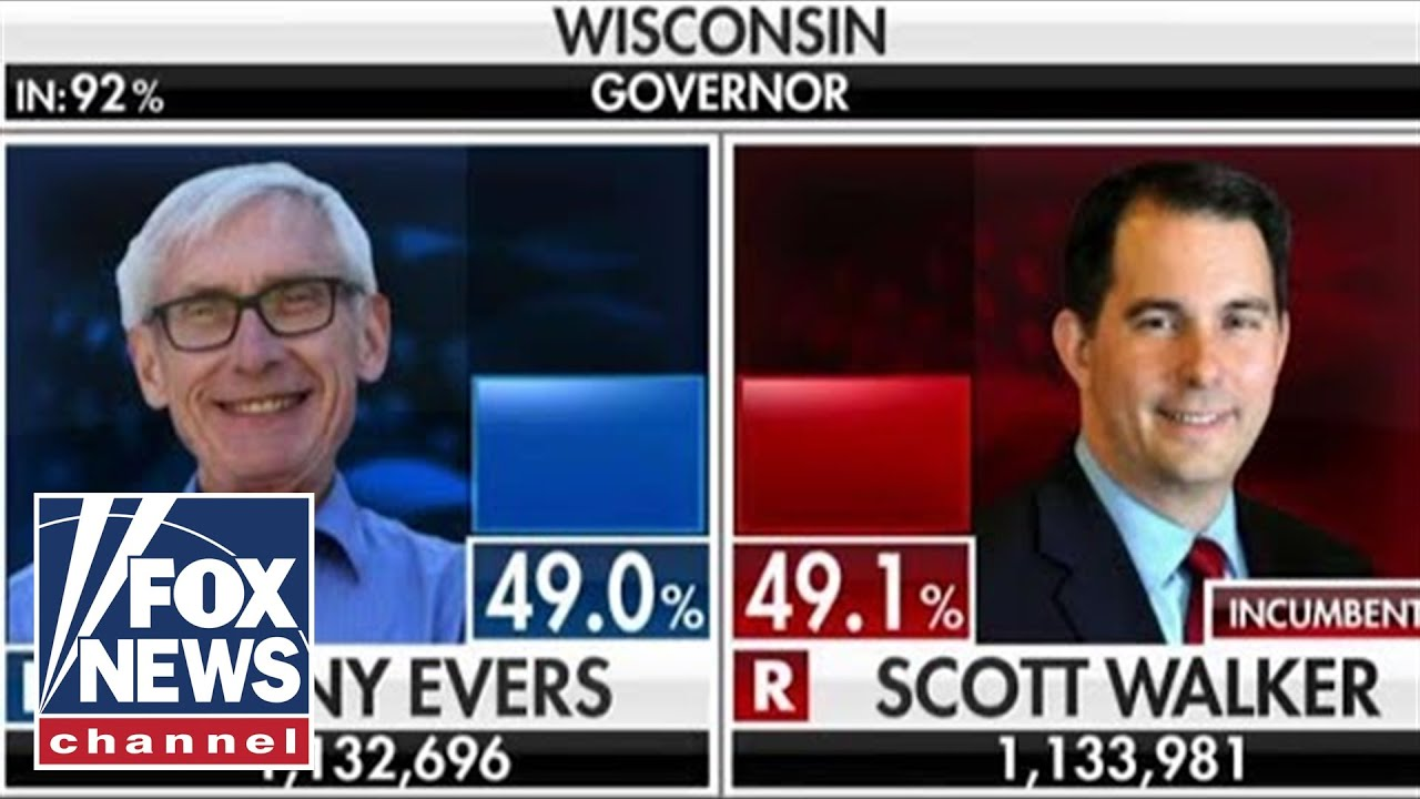 Race for Wisconsin governor too close to call - YouTube