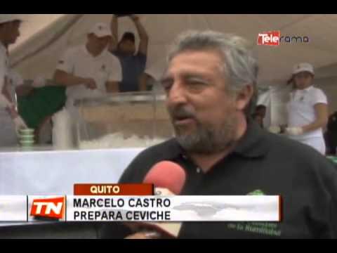 Mega Ceviche organizado por Fundación Scouts