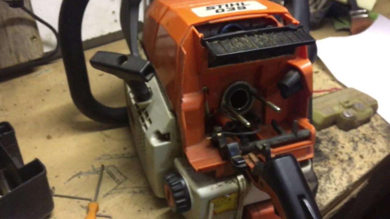 Beliebt Bevorzugt Stihl 039 - Stihl 039 repair - Stihl 039 carburetor - YouTube @QT_24