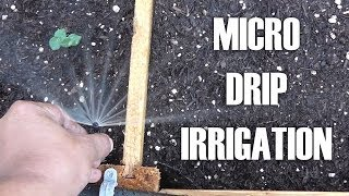 Adding Micro/drip Irrigation For Raised Bed Garden By Converting Existing Sprinkler System