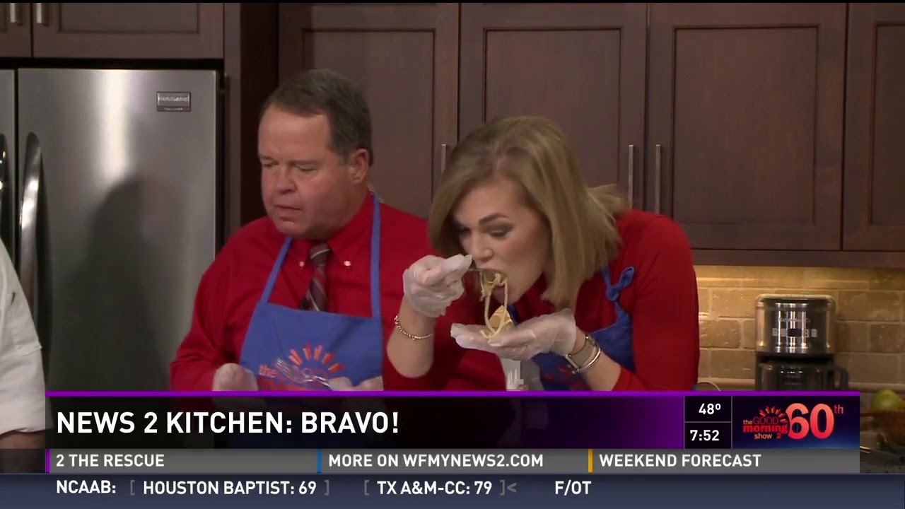 Cucina Italiana Tv Show Bravo Cucina Italiana Visits Wfmy S The Good Morning Show