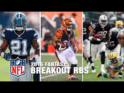 Top RB Fantasy Breakout Players of 2016 | NFL Fantasy