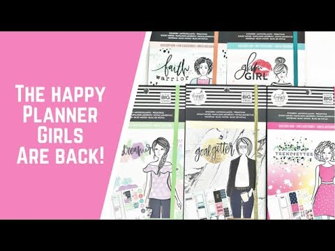 The NEW Happy Planner Girl Accessory Pack Flipthroughs