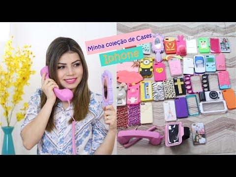 Coleção de Cases Iphone 5S   2015 Atualizado   Paloma Soares