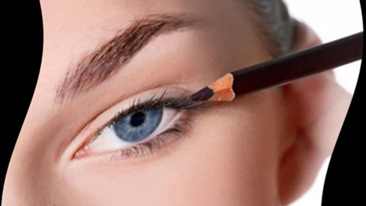 Смотреть Как пользоваться карандашом для глаз, чтобы сделать взгляд выразительным видео