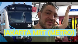 A tour with the new MRT (Metro) in Jakarta