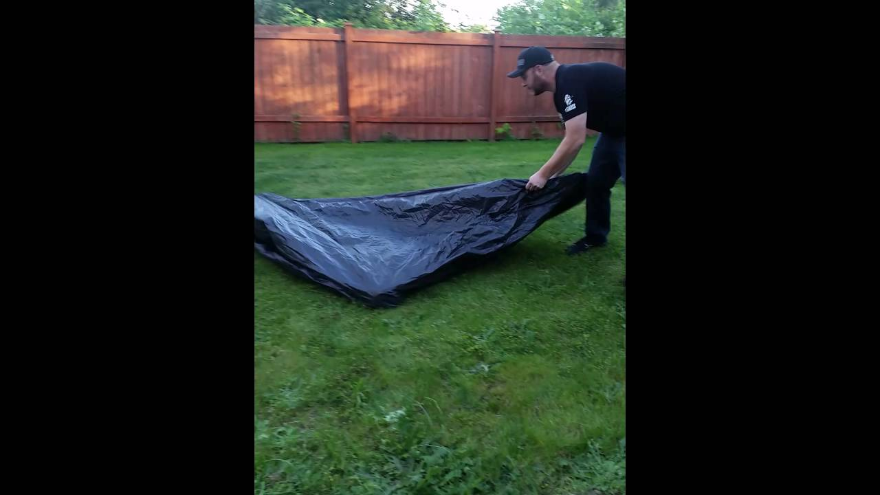 60 second Coleman tent & 60 second Coleman tent - YouTube