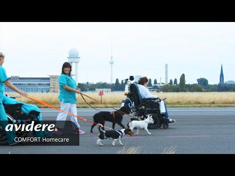 Image- und Recruitingfilm für COMFORT Homecare Intensivpflege respektvoll gefilmt