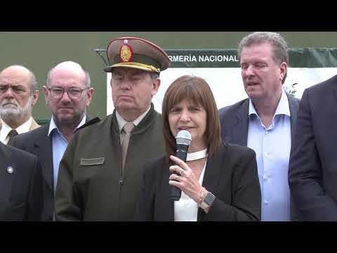 """Patricia Bullrich presentó la operación """"Arsenal Clandestino"""""""