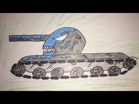 Как нарисовать Танк ВЕНОМ из -МУЛЬТИКИ ПРО ТАНКИ! #МультикиПроТанки #танки #как_нарисовать_танк