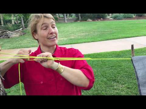 How to Tie Truckers Hitch Survival Knots — Tarp Shelter