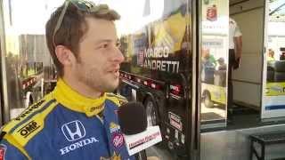 HPD Trackside -- Marco Andretti and Andretti Autosport