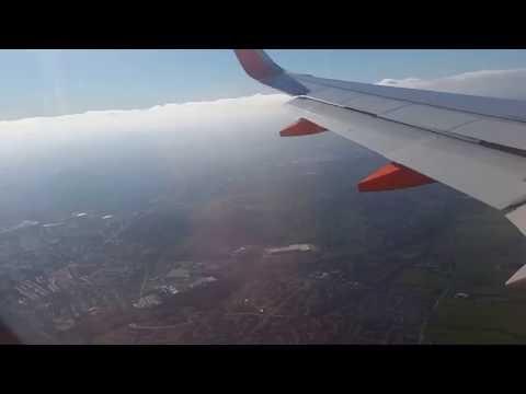 Landing in Belfast International Airport