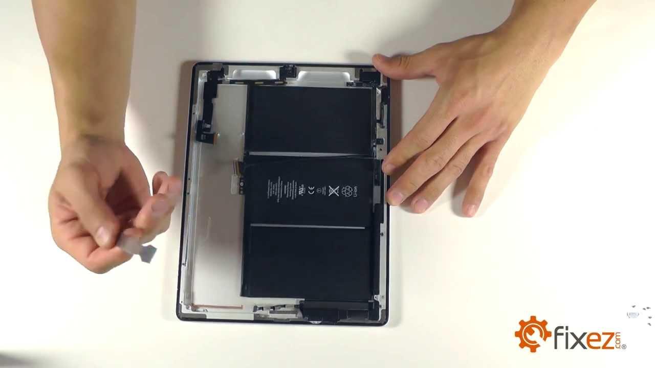 ipad battery wiring diagram [ 1280 x 720 Pixel ]