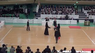 65th All Japan Kendo Championship 18   Round 1, Senda vs Yamamoto