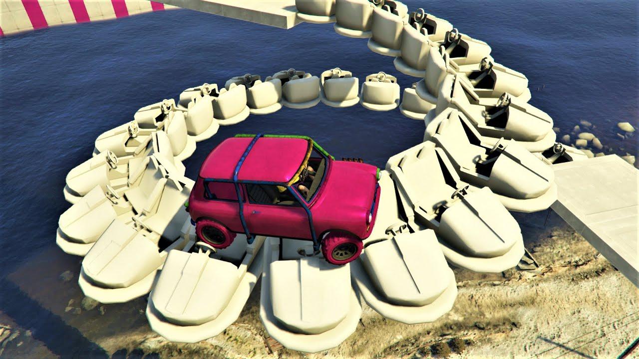 GTA 5 - Crazy Spiral Race