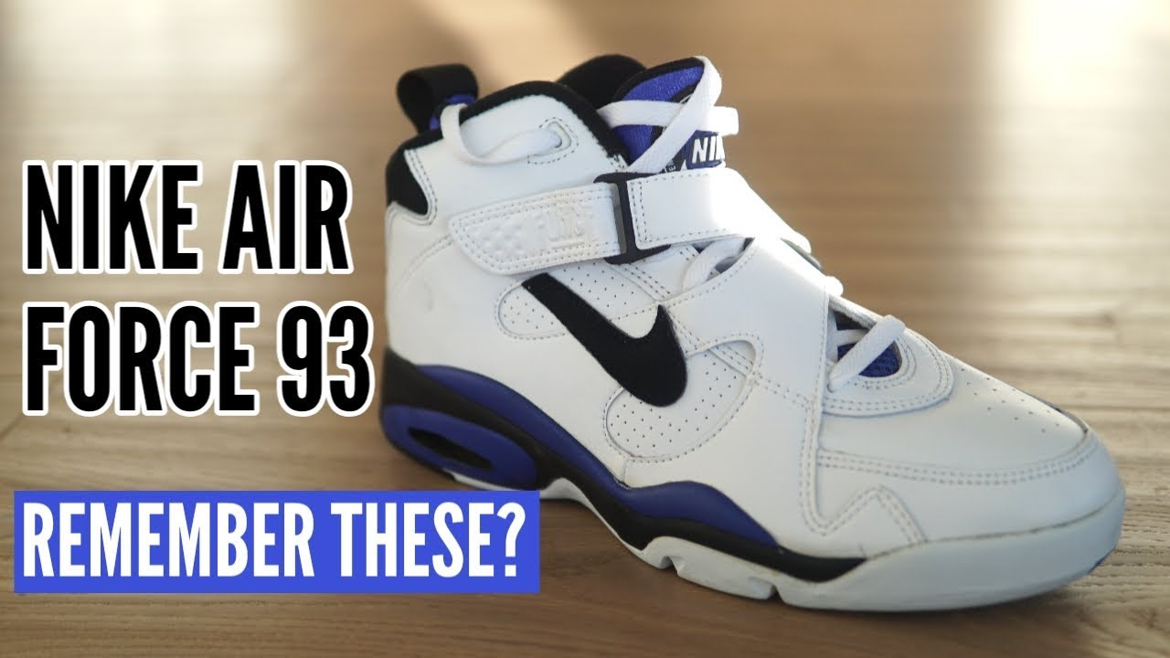 3b1510c431c15 Remember These? vol. 1 - Nike Air Force 93 OG (Similar to Air Force ...