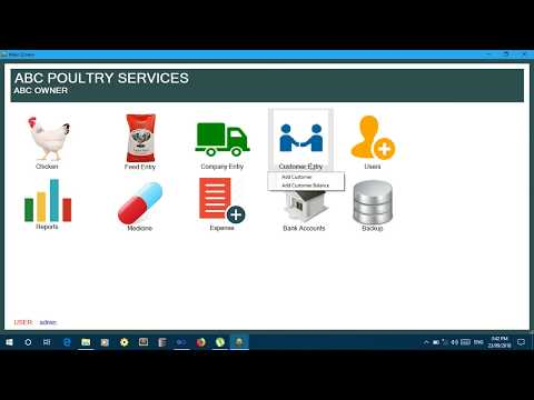 Poultry Management System In C# With Souce Code