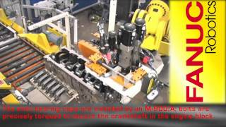Engine Assembly Robots - FANUC Robot Industrial Automation