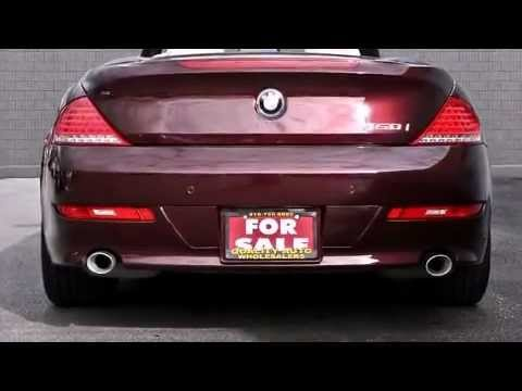 BMW Series I Convertible Navigation Leather Alloys - 2008 bmw 650i price