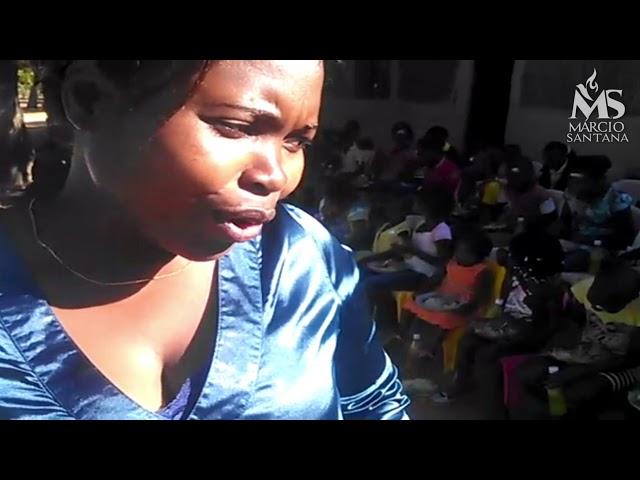 Niver das crianças órfãs na África