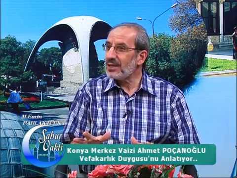 VEFA Ve VEFAKARLIK Ahmet Poçanoğlu-M.Emin PARLAKTÜRK KonyaTV