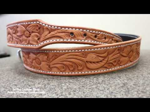 Leatherworking - How to Cut and Split Belt Blanks with C.S. Osborne Leather Splitter