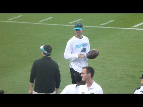 Former Miami Hurricanes/NFL QB Ken Dorsey at Panthers Fan Fest