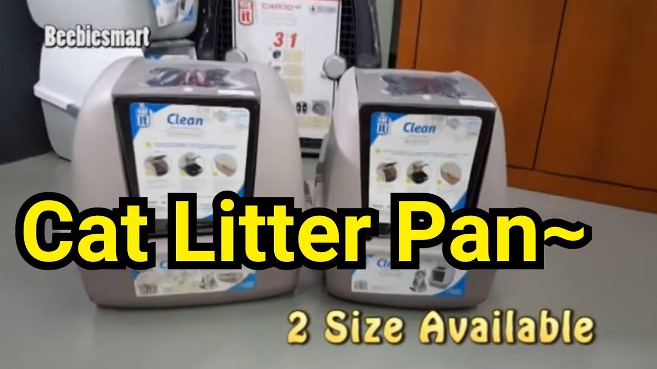 Image Covered Cat Litter For Catit Jumbo Hooded Cat Litter Pan Youtube