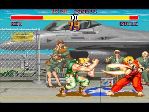 Street fighter II sound SonicBoom