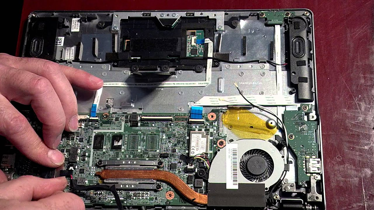 acer Chromebook C720 MAIN BOARD disassembly Motherboard