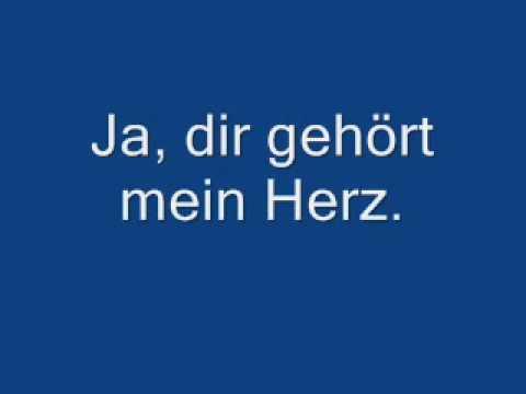 Dir gehört mein Herz (German Lyrics)