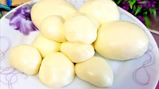 Сыр МОЦАРЕЛЛА Простой Рецепт в Домашних Условиях. Вкусно и Натурально